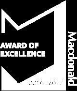 Excellence Award 2016 - 2017